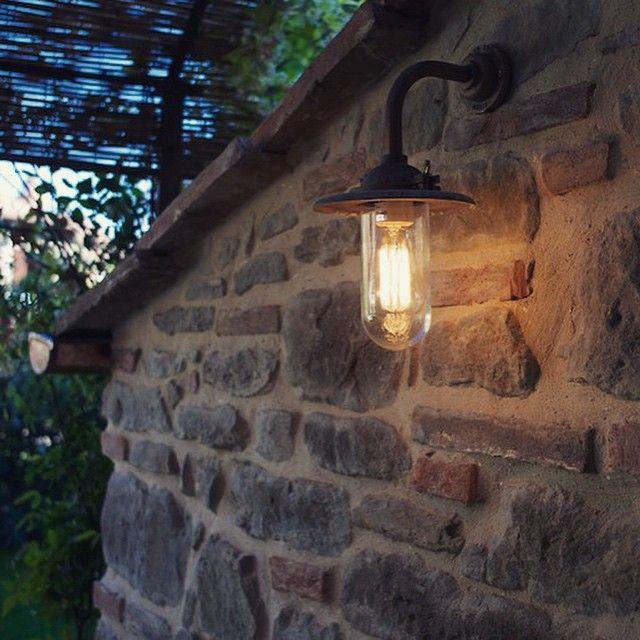7685 Exterior Bracket Light i sandblåst bronse  #daveylighting