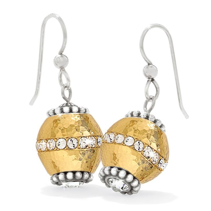 Brighton Glimmer Bead charm earrings