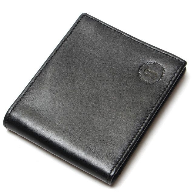 New Fashion Men Leather Wallet Real Coin Purse For Man Wallets