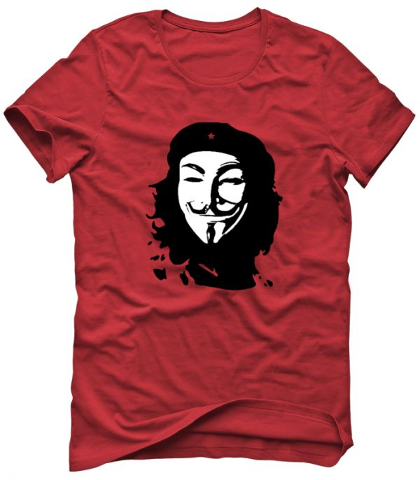 ANONYMOUS CHE GUEVARA T-Shirt Sweatshirt Hoodie Men's Women's