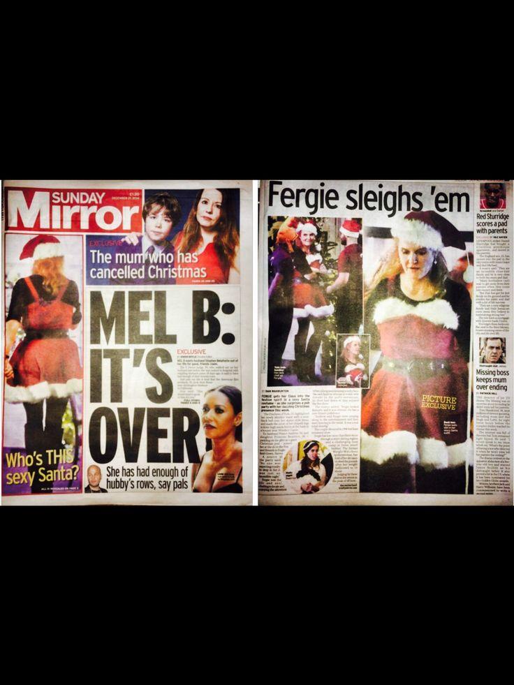 Fergie 21 December 2014