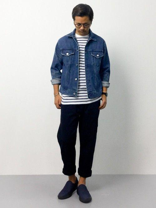 ジージャン コーデ メンズ 【洗練の着こなし6パターンを紹介!】