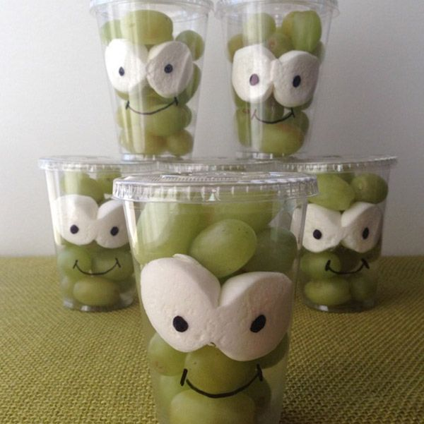healthy and cute snack little frankies class snack healthy snack idea for halloween by green lunches green kids - Healthy Halloween Snacks For Toddlers