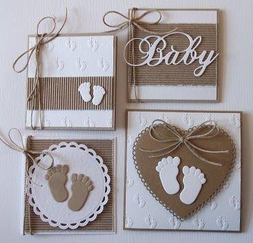 Regelmatig maak ik geboortekaartjes op bestelling en het was hoog tijd voor weer wat nieuwe voorbeelden voor mijn toekomstige klanten. Lekke...