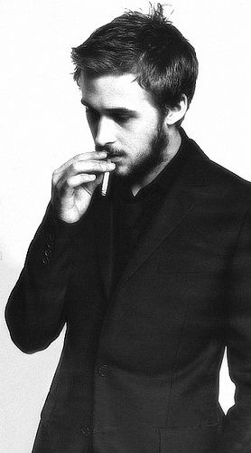 Ryan Gosling. NO RYAN GOSLING. TAKE THAT NASTY CIGARETTE OUT OF YOUR MOUTH.