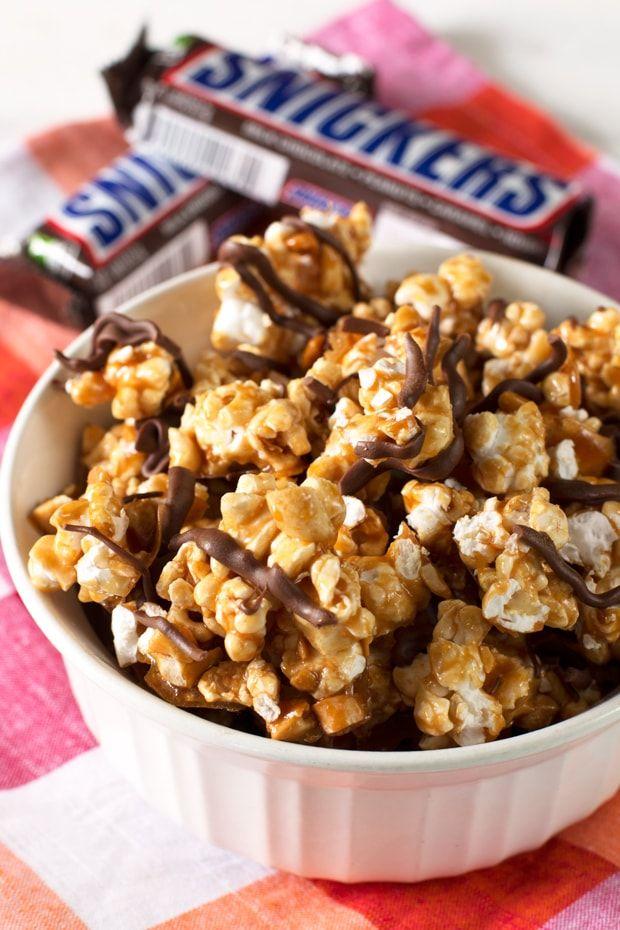 Snickers Palomitas de maíz + Palomitas semana Giveaway! | cakenknife.com
