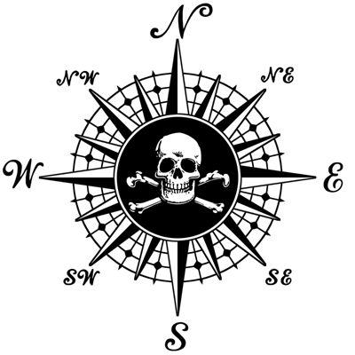 Pirate Compass Rose