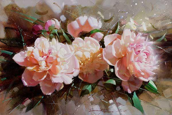 Гаппасов Рамиль. Розовые пионы