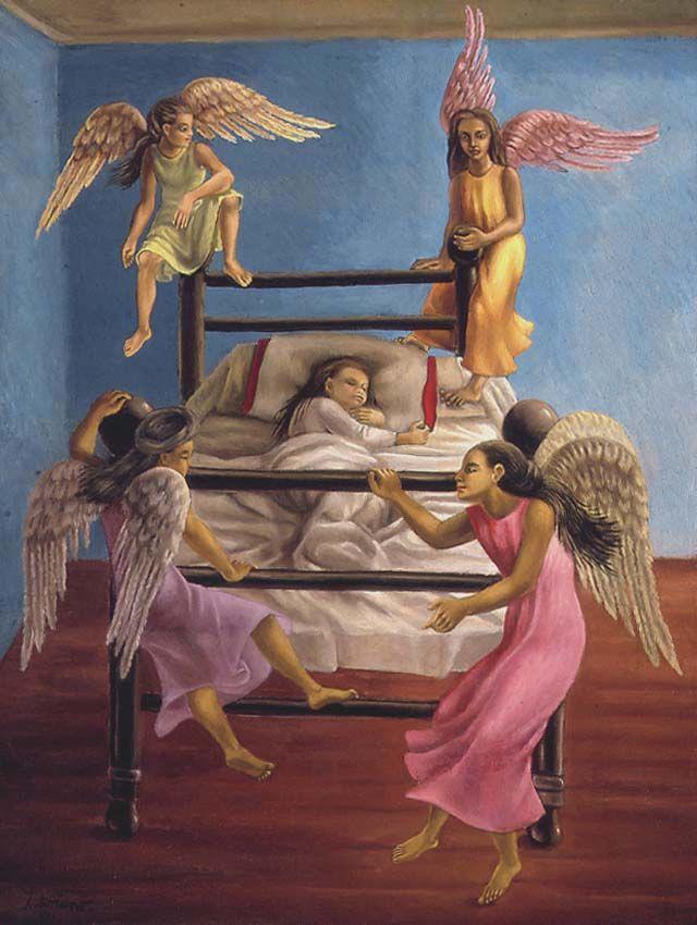 Image detail for -Juan Soriano, Cuatro esquinitas tiene mi cama, 1941
