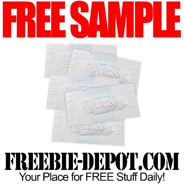 ►► FREE SAMPLE - Instantly Ageless Cream ►► #Free, #FREESample, #FREEStuff, #Freebie ►► Freebie-Depot