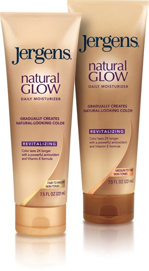 Best Cheap Daily Self Tanner:  Jergens Natural Glow