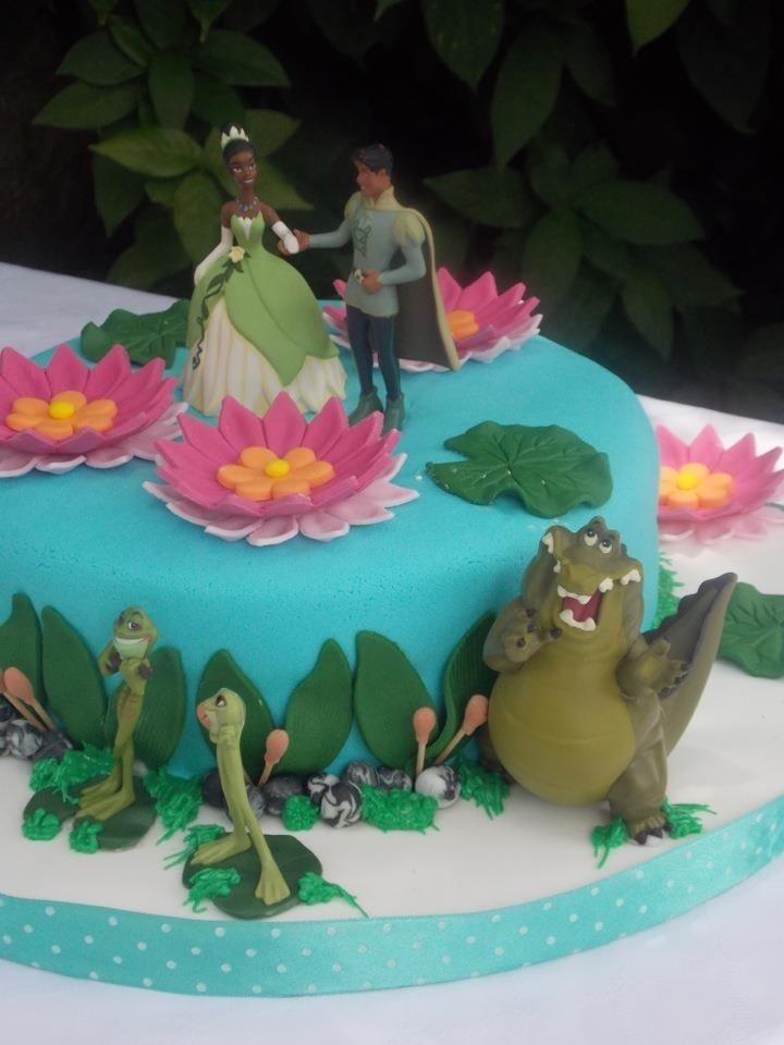 Cake la princesa y el sapo hijas pinterest cakes - Sapos y princesas valencia ...
