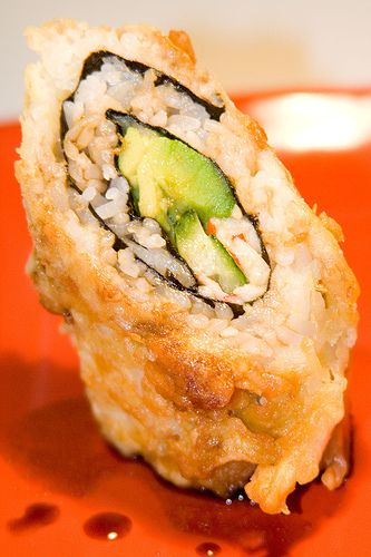 Crazy California roll!