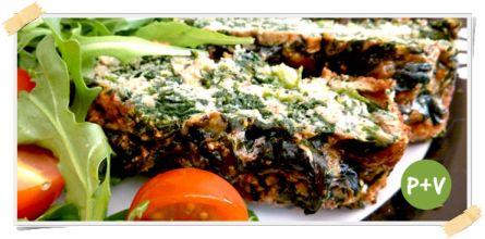 Ricetta per la dieta Dukan: frittata al forno con spinaci e lime