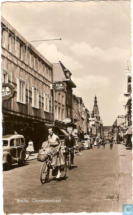Breda - Ginnekenstraat - 1961.
