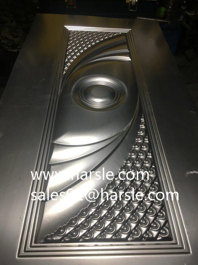 Harsle New Design Metal Door Sheet Mould E Mail Sales01 Harsle Com Whatsapp Wechat 8617372968723 Metal Door Embossing Machine Design