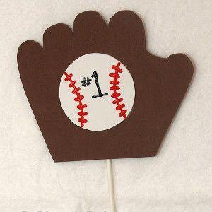 #1 Baseball Fan Sports Craft | AllFreeKidsCrafts.com