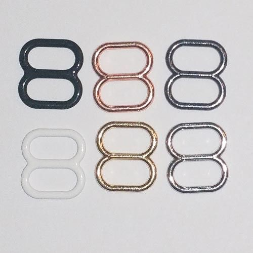 Fabric Die Cast Sliders for Swimwear and clothing