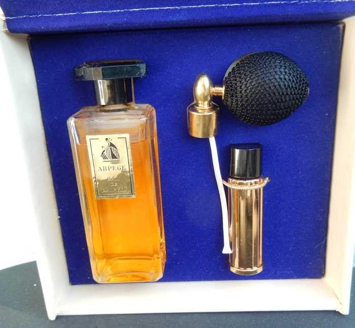 1950s Lanvin Arpege Perfume Atomizer Eau De lanvin Gift Set by gypsytejas on Etsy