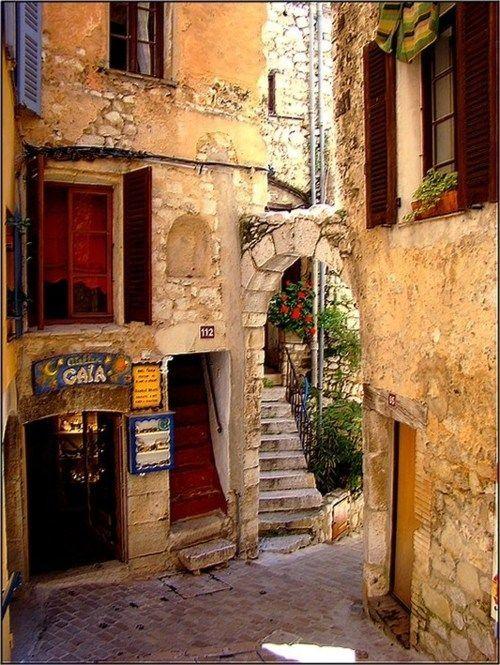 Medieval Village - Tourettes sur Loupe - France -
