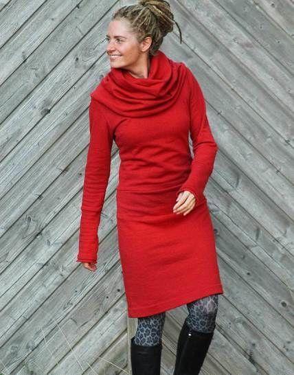 ADELE the dress: ein Kleid - immer anders. Ob mit Kapuze, Schal-oder ...