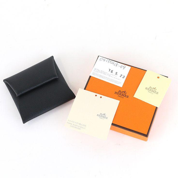 【商品名】エルメス(HERMES) バスティア 小銭入れ コインケース エプソン ノワール ブラック【価格】¥32,800【状態】S  未使用展示品等、新品に非常に近い綺麗な状態の商品です。