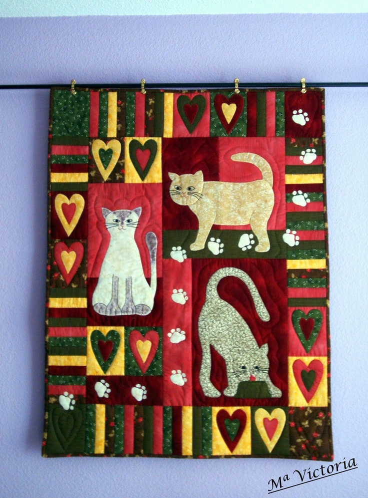 Quilting cats and dogs