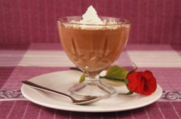 Deser czekoladowy z tapioką