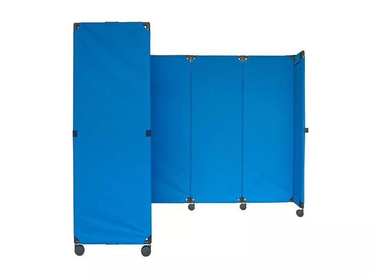 Looking for a cheap room divider that can take on a large space with ease? Look no further than Versare's MP10 Accordion Room Divider. It's no wonder why the MP10 is one of our best-selling portable partitions. This affordable room divider is lightweight and easy to move. The MP10 Accordion Room Divider's 360-degree articulating panels allow a wide variety of shapes, and the velcro end-straps provide easy attachment to additional units. The canvas partition panels are durable, li...