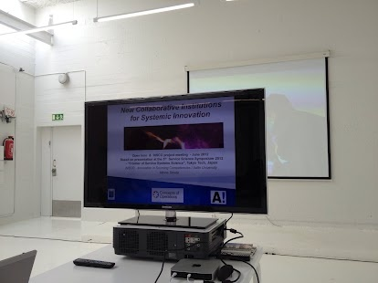 Minna Takala's opening presentation on 3D Printing workshop
