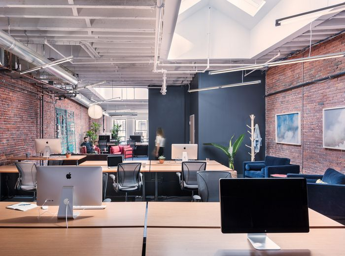 movet office loft alexander fehreer. Office Tour: Metromile Offices \u2013 Boston | Open Office, Studio And Bricks Movet Loft Alexander Fehreer