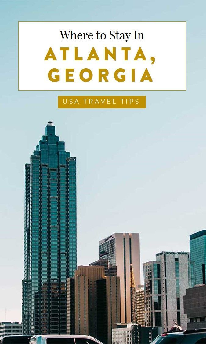 Hot-lanta! Make sure you book the right hotel when traveling to Atlanta Georgia. This accommodation guide curates our favorite Georgia hotels. #georgia #atlanta, atlanta georgia things to do, visit atlanta, southern cities, southern usa, american cities, best cities in the usa #TravelDestinationsUsaGeorgia