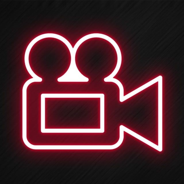 Video Icon In Neon Style Png And Psd Wallpaper Iphone Neon Neon Sign Art Neon Wallpaper