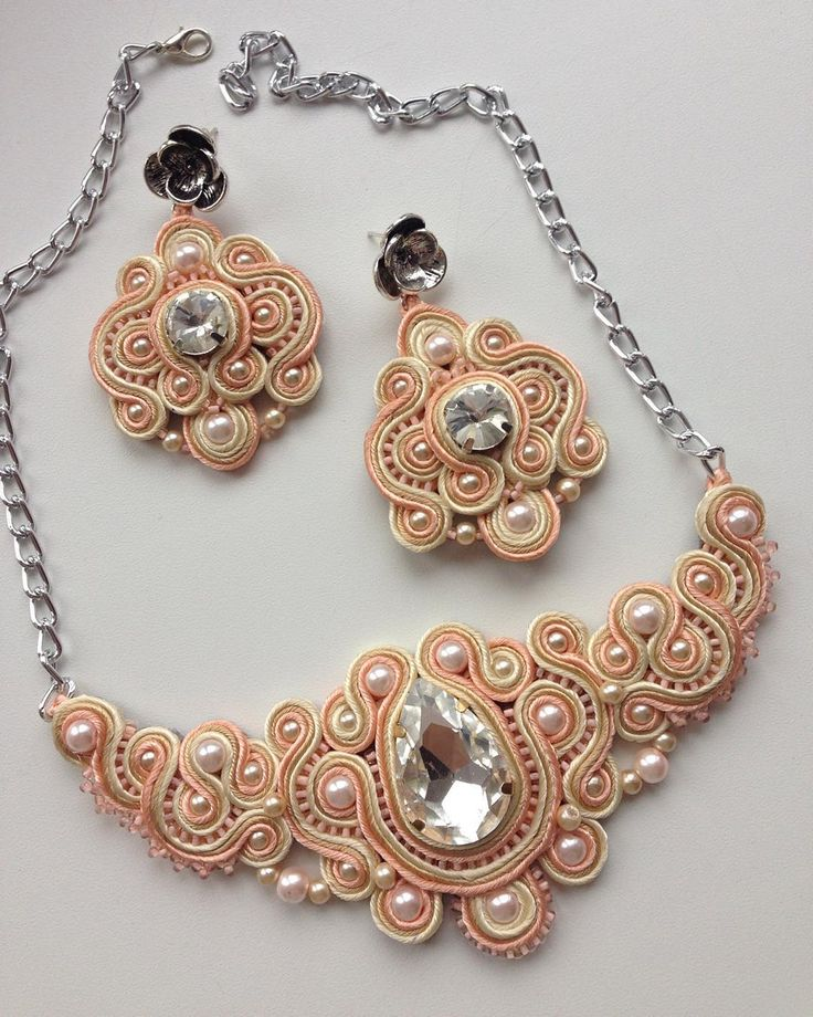 Заказ готов и ждет свою хозяйку персиковая нежность ☺️ #мирный #handmade#aminasjewellery