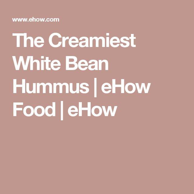 The Creamiest White Bean Hummus | eHow Food | eHow