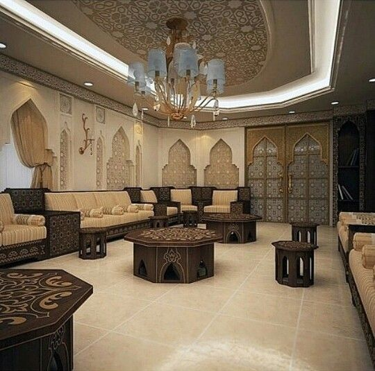 Arabic sitting room