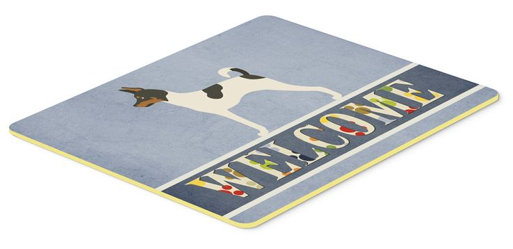 American Toy Fox Terrier Welcome Kitchen or Bath Mat 20x30 BB8306CMT
