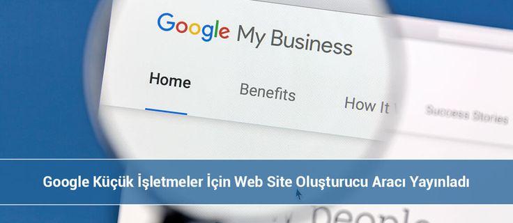 Google Web Site Oluşturucu ile Kullanımı son derece basit ve sadece temel ihtiyaçları paylaşma üzerine kurgulanmış bir araç.