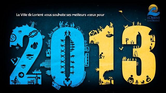 Réalisation de la carte animé 2013 des vœux de la Ville de Lorient   http://foudebassan.fr/portfolio/voeux-2013-pour-la-ville-de-lorient/#