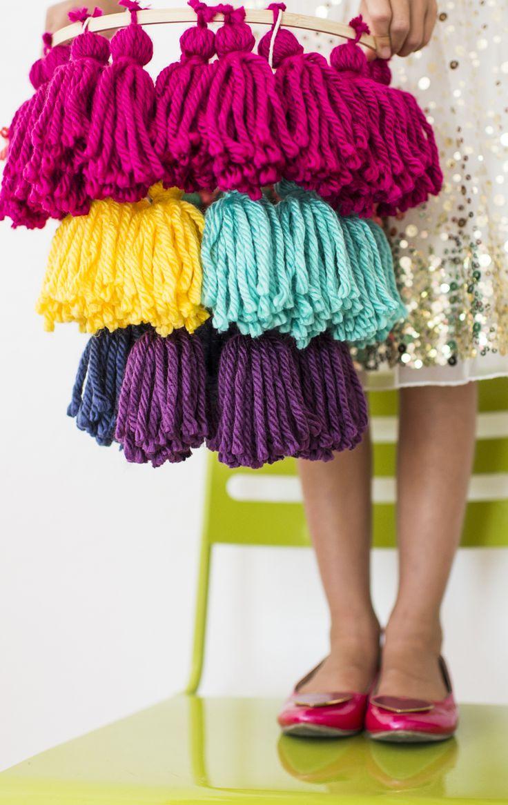 Tassels to dress up any space! http://asubtlerevelry.com/tassel-hanging-light/