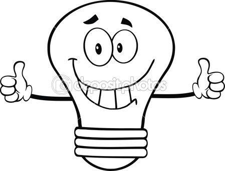 Картинки лампочка для детей
