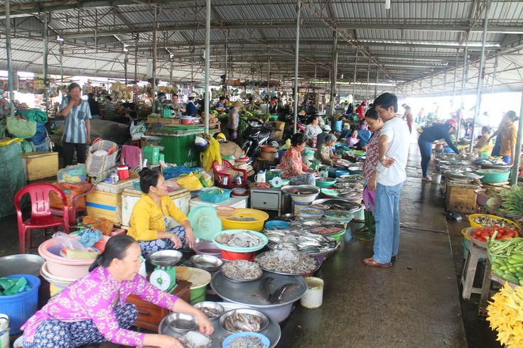 market - Mekong Delta - Vietnam
