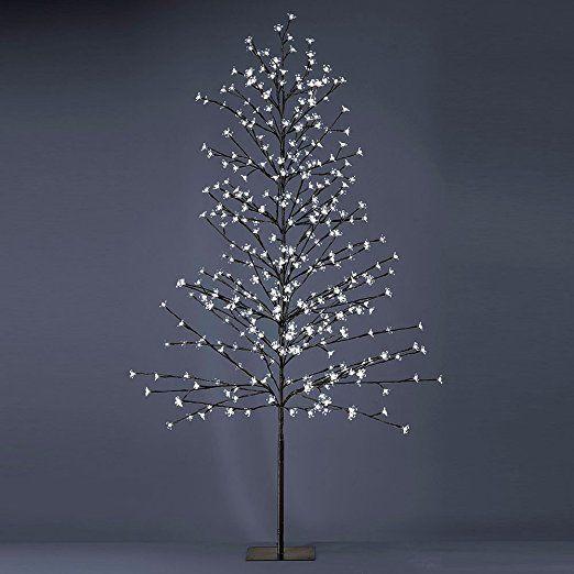 Hochwertige Außen Steh Lampe Garten Deko Baum Beleuchtung 380 LED's Leuchten Direkt 86134-18