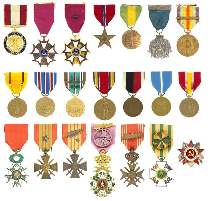 Oscar Koch Medals History, The past, Past