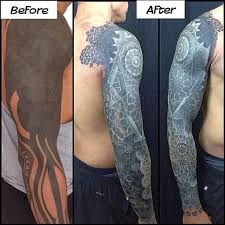Image result for solid black tattoos