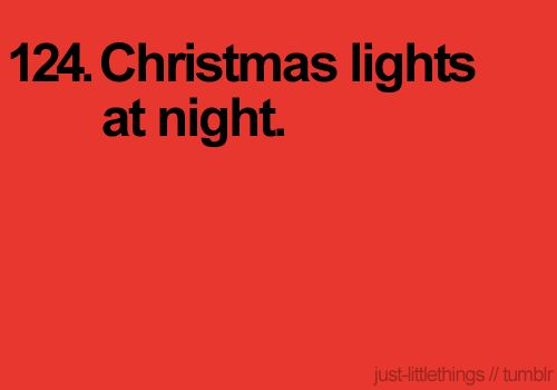 I LOVE THE CHRISTMAS SEASON!