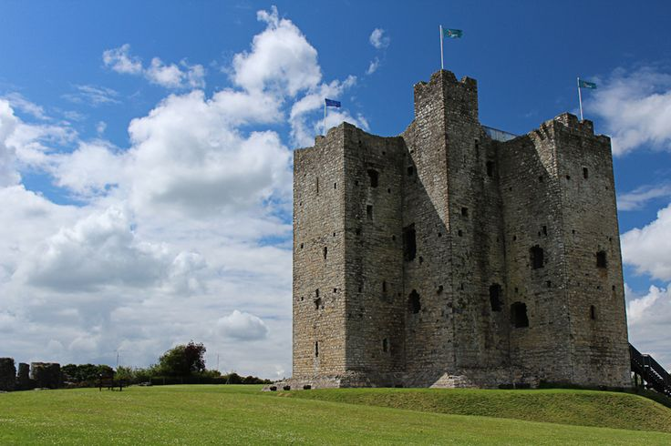 Trim Castle is one of the most famous castles in Ireland. It was one of two castles used in the filming of Braveheart.