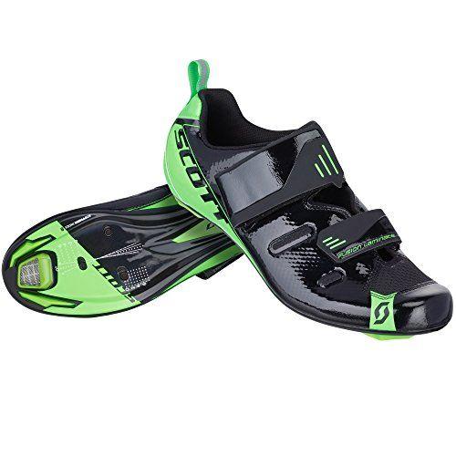 Scott Tri Pro Triathlon Fahrrad Schuhe schwarz/grün 2016 - http://on-line-kaufen.de/scott/scott-tri-pro-triathlon-fahrrad-schuhe-schwarz