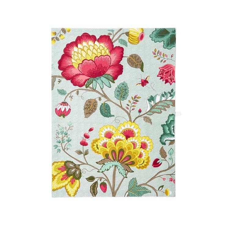 #Pip #pipStudio #Fantasy #theedoek #gebloemd #gebloemdetheedoek #vintage #botanisch #floraal #keuken #textiel #doek #afdrogen #multicolour #kleurrijk #bloemen #bloemenprint