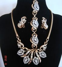 Vintage Trifari 1953 Flirtation Rhinestone Necklace Bracelet Earrings AD
